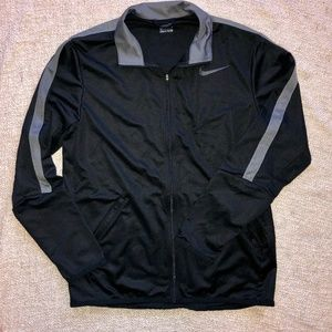 Nike Black Full Zip Performance Jacket